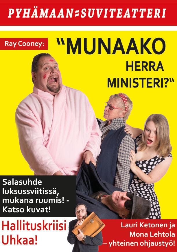 Munaako herra ministeri? -mainos (Iiro Kivistö)